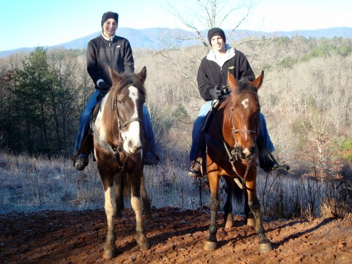 "Riding Horses at ""The View"""